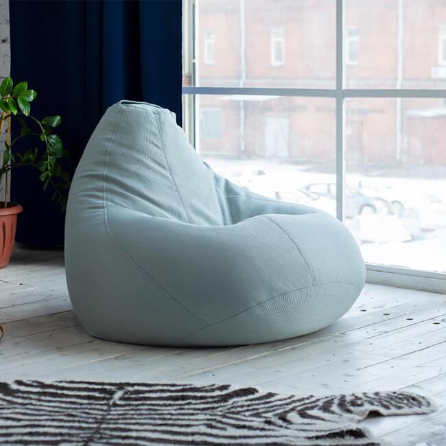 Бескаркасная мебель — комфортный и безопасный подарок на день рождения