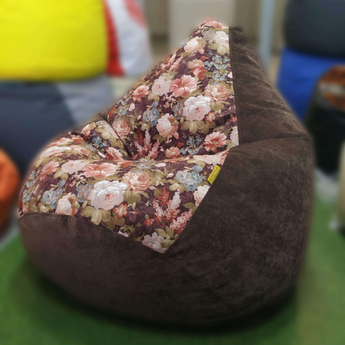 Кресло-груша Аква Браун