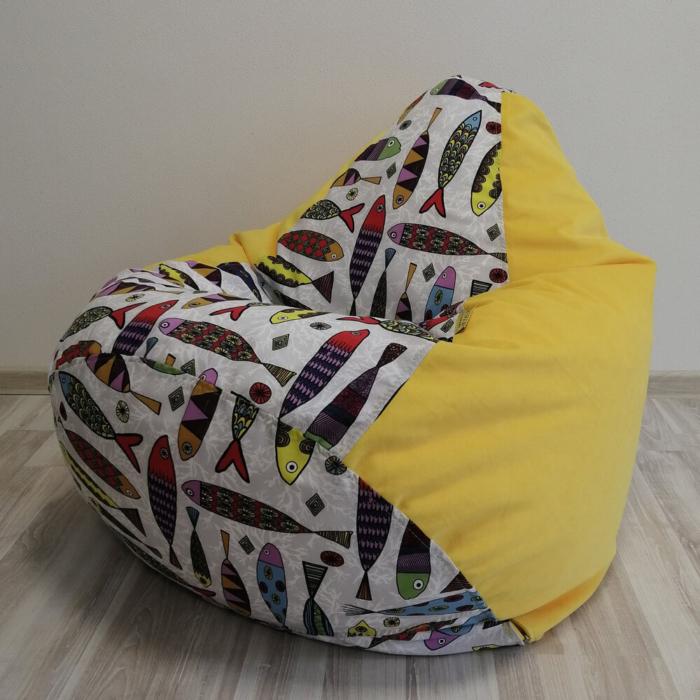 Кресло-груша Сантона Микс