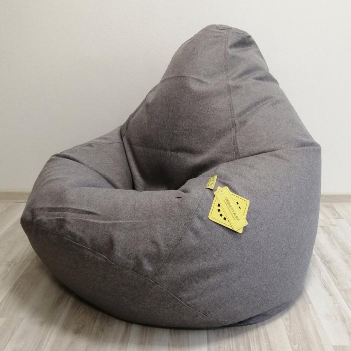 Кресло-груша Палермо Светло-серая