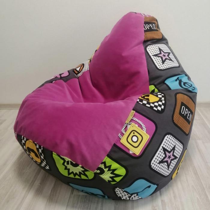 Кресло-груша Плэй Микс