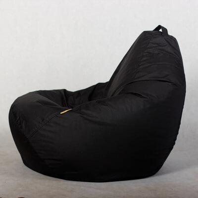 Кресло-груша Стронг Черная