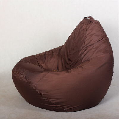 Кресло-груша Стронг Коричневая