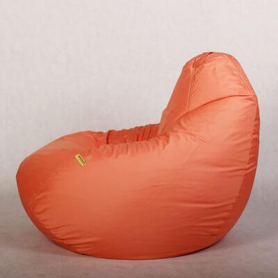 Кресло-груша Стронг Персиковая