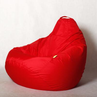 Кресло-груша Стронг Красная