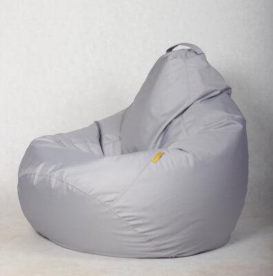 Кресло-груша Стронг Светлосерая