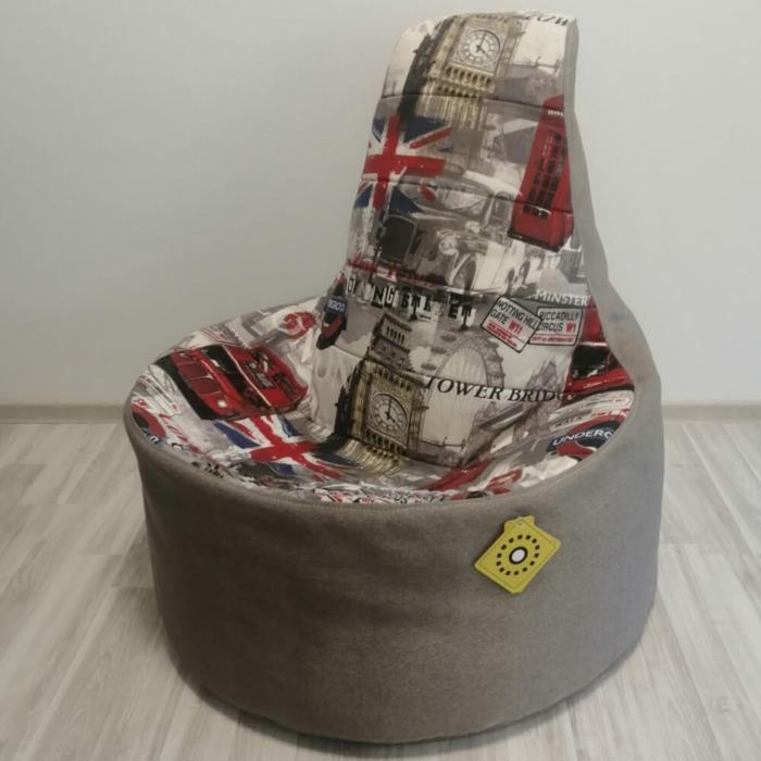 Кресло-трон Лондон Бас